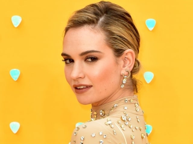 Lily James Transforms Into Pamela Anderson for New Hulu Series 'Pam & Tommy'