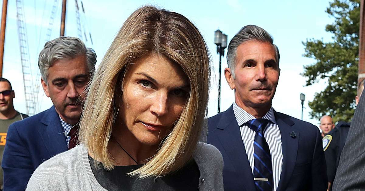 Lori Loughlin surrenders 2 month prison sentence college admissions scandal