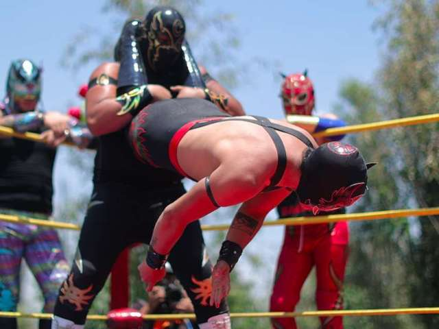 Luchador Principe Aereo Dies After Collapsing in Ring