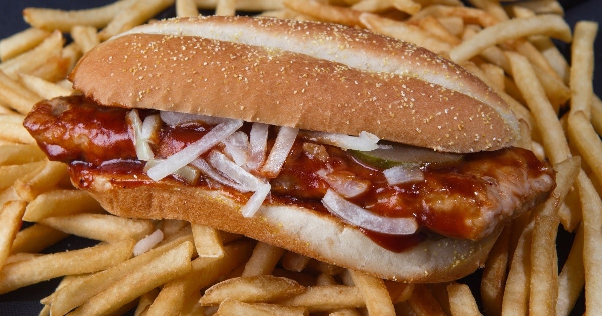 mcrib getty images