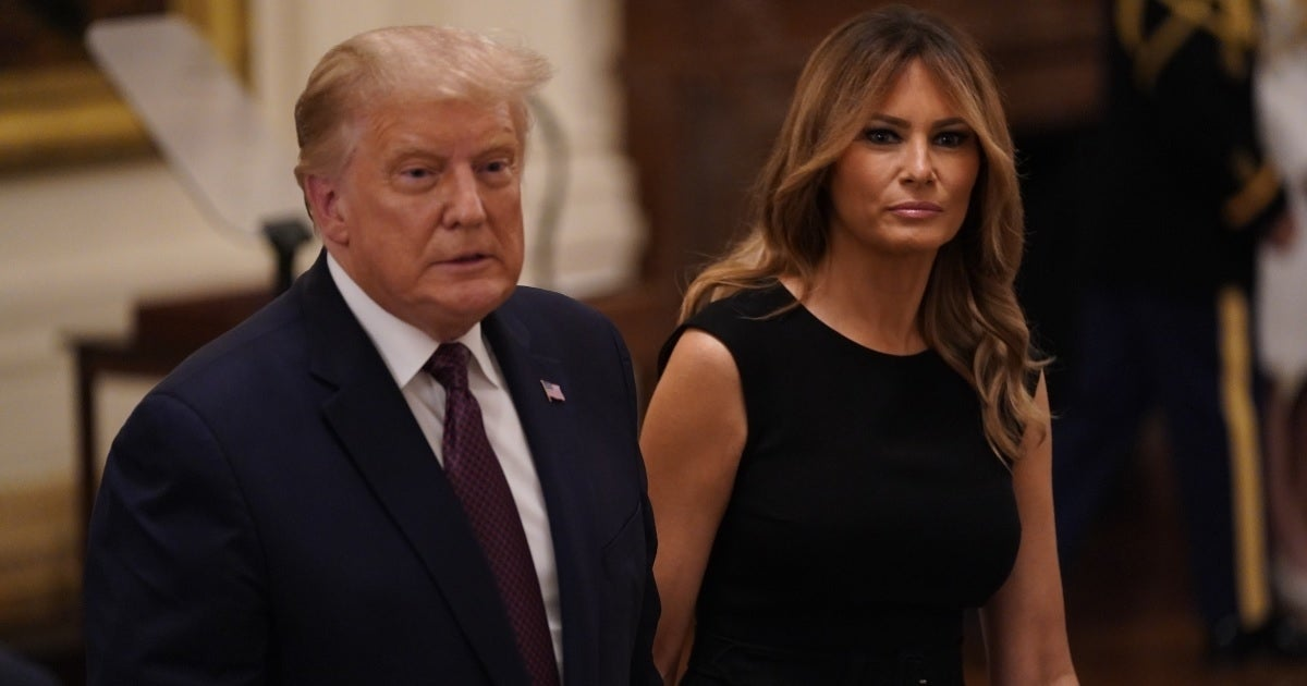 melania trump donald trump getty images
