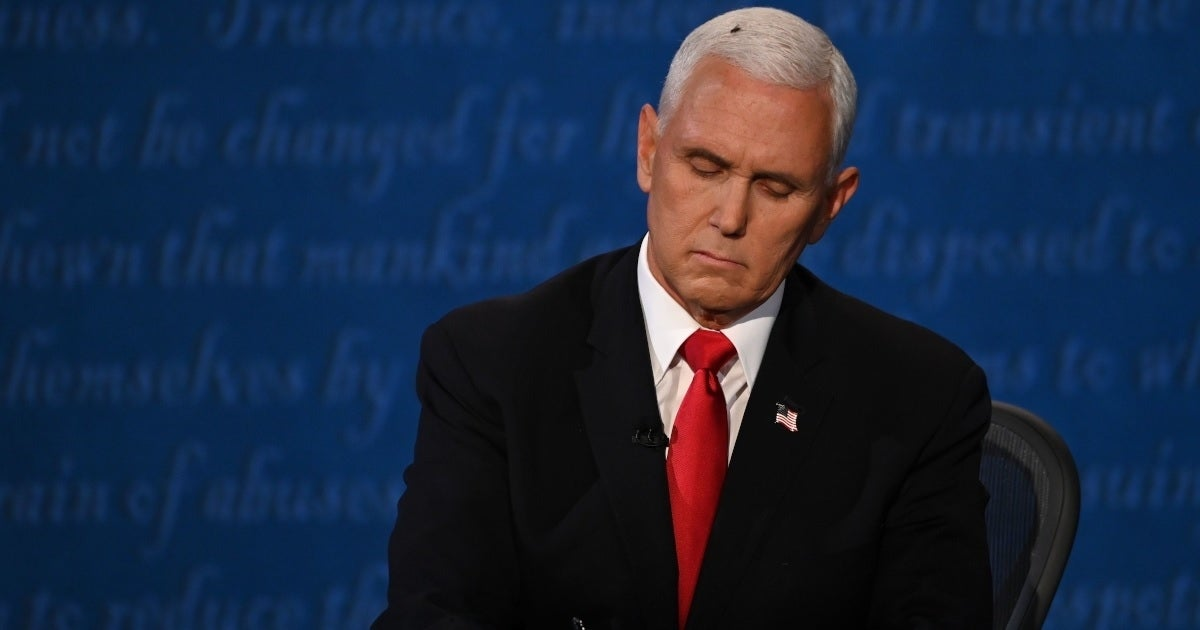 mike pence fly getty images 2