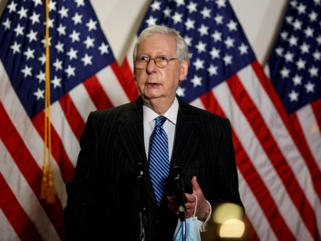 Mitch McConnell Says 'No Reason' Stimulus Bill Can't Happen in December