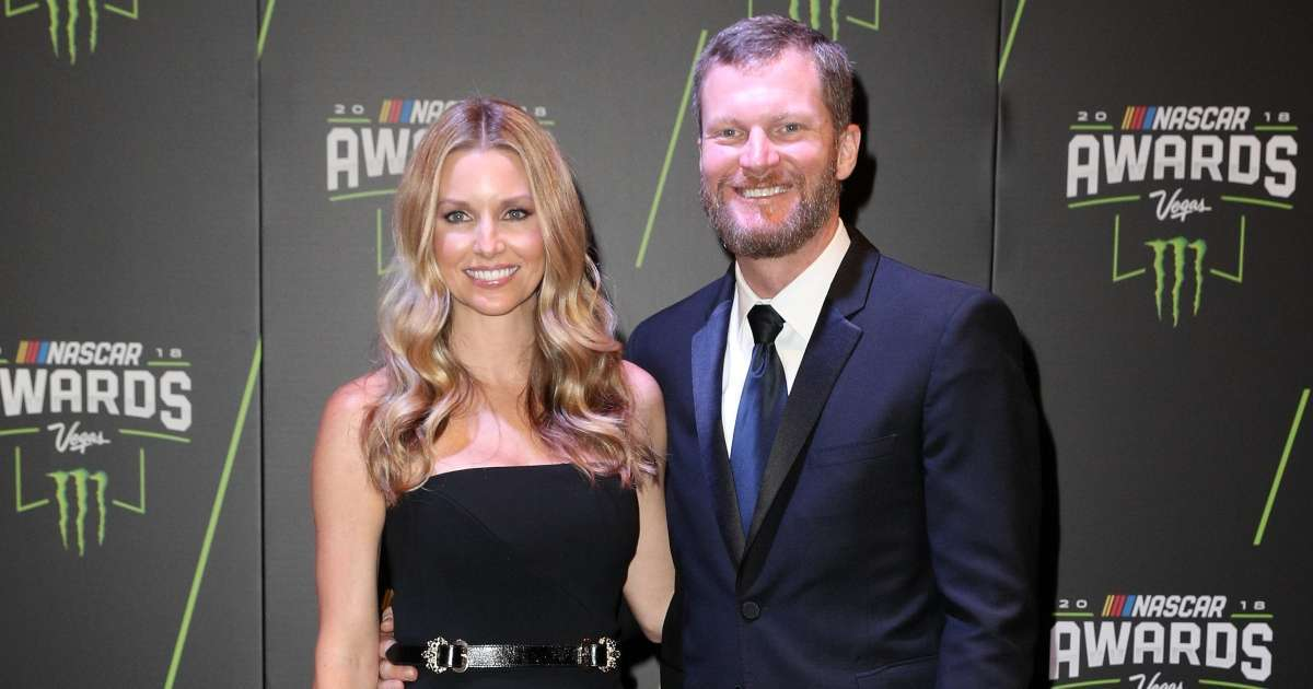 NASCAR Dale Earnhardt Jr wife Amy welcome second daughter