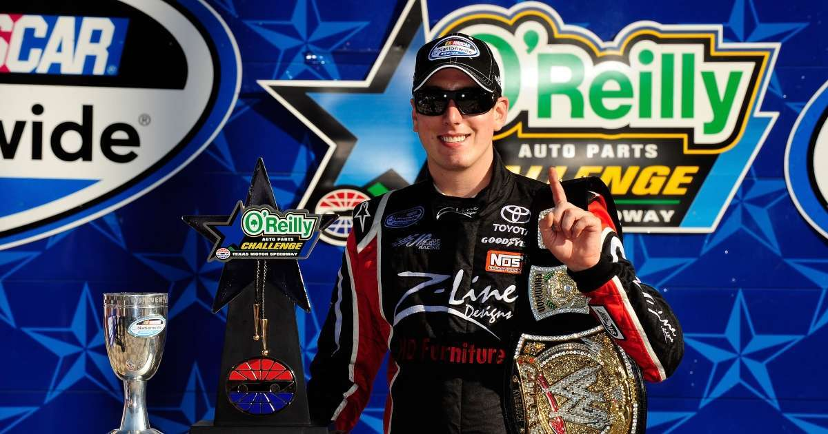 NASCAR Kyle Busch ready win WWE 247_7 Championship again