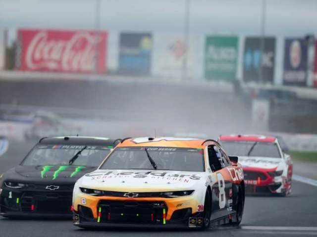 NASCAR Drivers Make Cup Series History With Rain Tires During Playoff Race