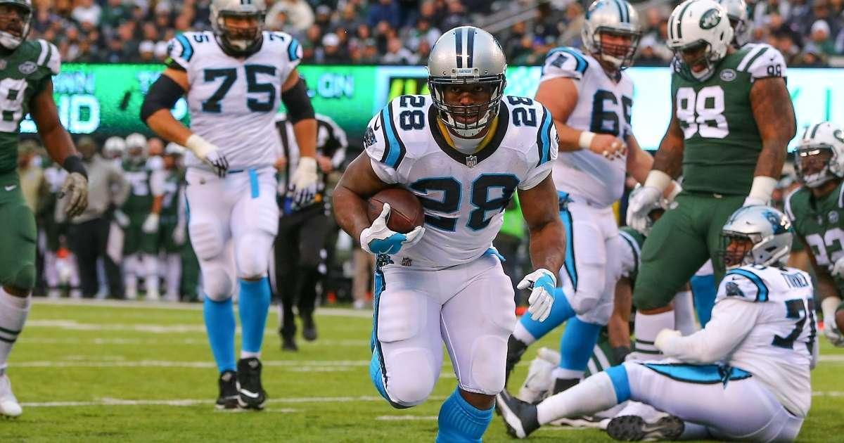 NFl running back Jonathan Stewart top Super Bowl contender, Pro Bowl future