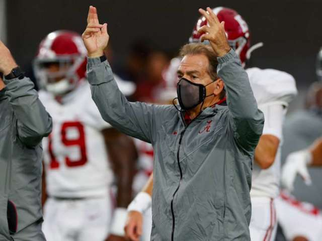 Nick Saban Cleared to Coach Alabama vs. Georgia Tonight After Third Negative COVID-19 Test