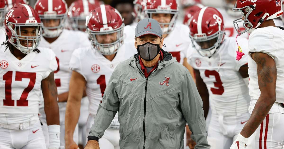 Nick Saban doing great testing positive COVID-19