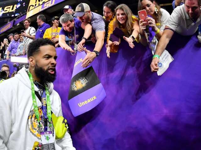 LSU Bans Odell Beckham Jr. From Team Facilities for 2 Years