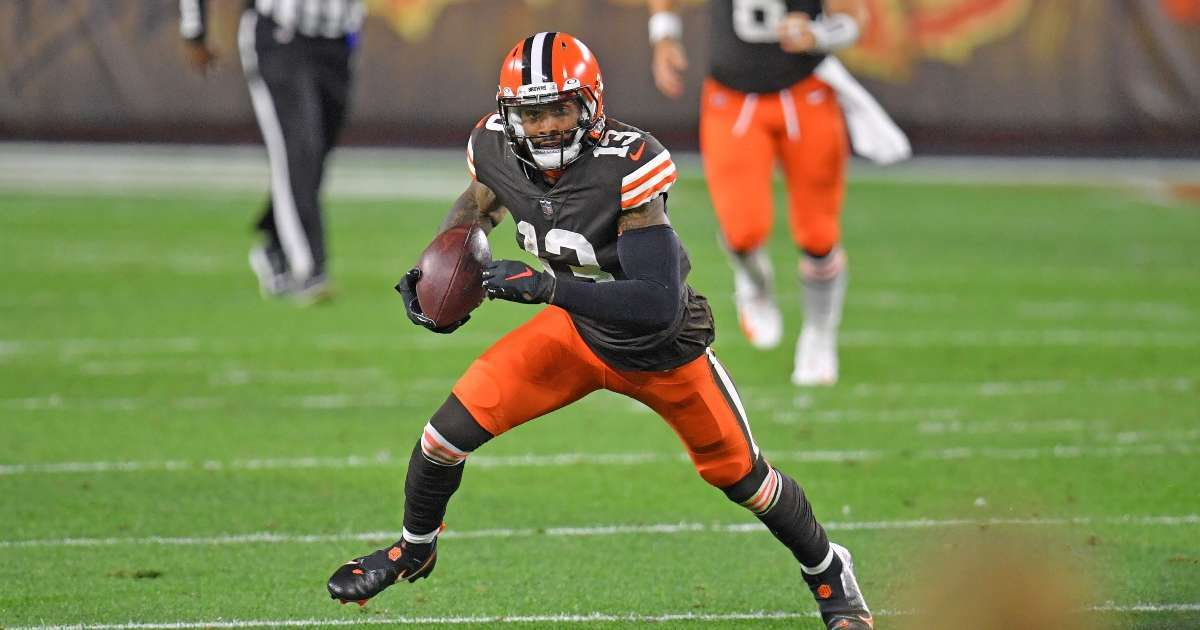 Odell Beckham tests negative COVID-19 leaving Browns facility illness
