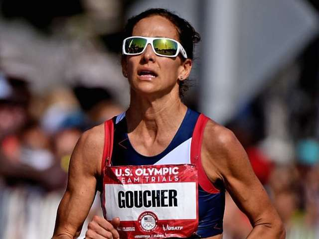 Olympic Runner Kara Goucher Blasts Donald Trump's Comments After Grandfather Died From COVID-19