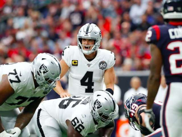 Raiders Sent Five Starting Linemen Home Due to COVID-19 Tracing, Raising Questions About Sunday's Game