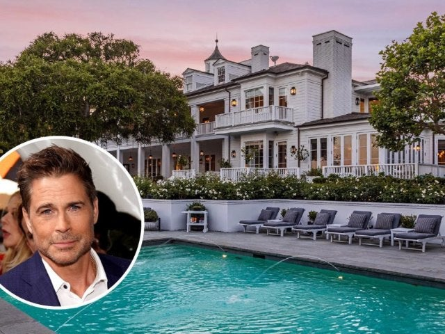 Tour Rob Lowe's Majestic $45.5M Montecito Mansion
