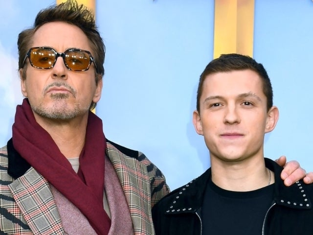 Robert Downey Jr. Accused of Photoshopping Tom Holland out of Photo With Chris Pratt