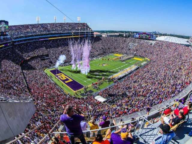Saints Looking to Host Games at LSU's Tiger Stadium