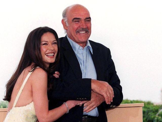 Sean Connery Dead: Catherine Zeta-Jones Mourns 'Entrapment' Co-Star