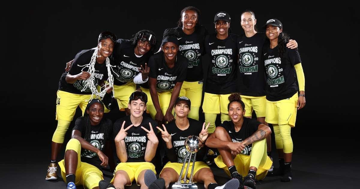 Seattle Storm win WNBA Championship social media reactions