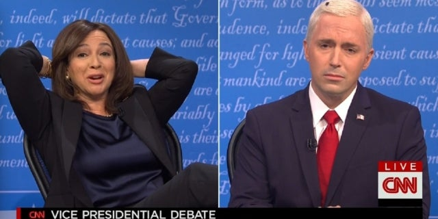 snl vice presidential debate sketch nbc