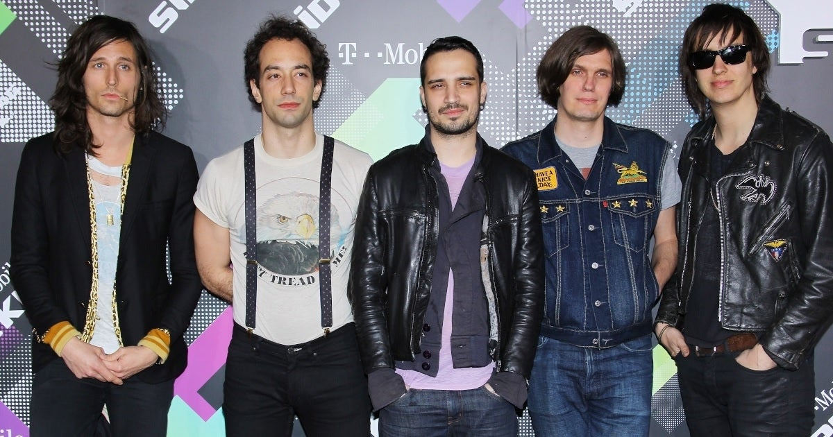 the strokes getty images