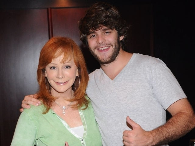 Thomas Rhett Recalls Being Put in Timeout by Reba McEntire on Halloween