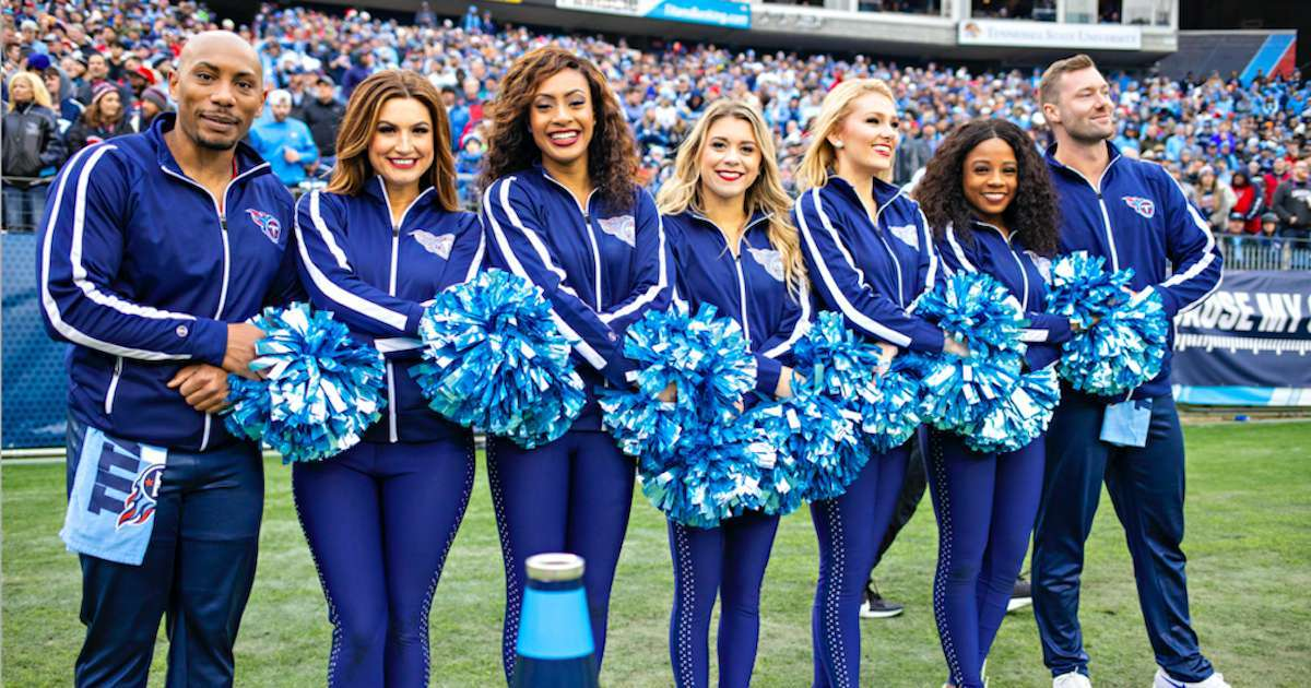 Titans-Cheerleaders