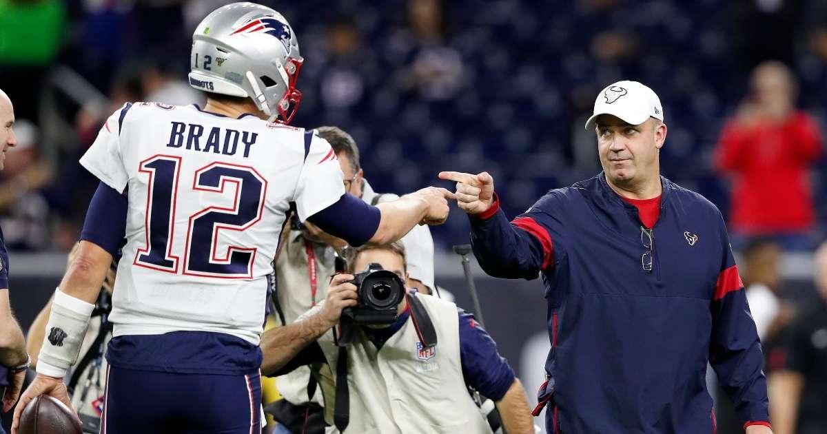Tom Brady Texans firing Bill O'Brien doesn't make a lot of sense