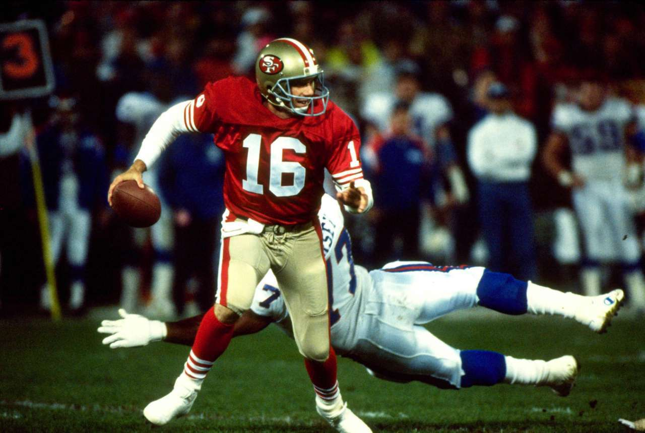 Top NFL player 1990 Joe Montana