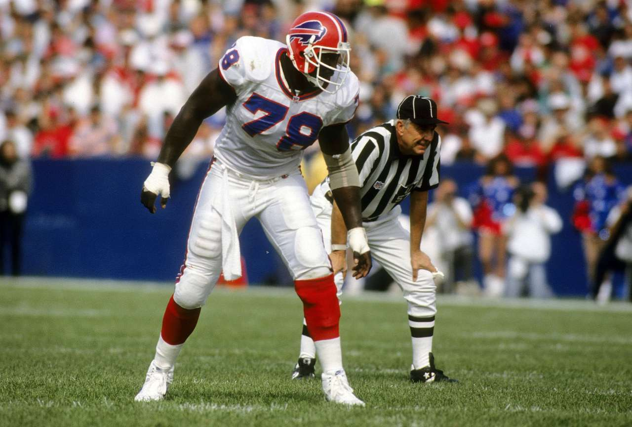 Top NFL players 1990 Bruce Smith