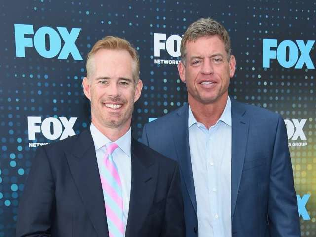 Troy Aikman and Joe Buck Caught on Hot Mic Slamming Military Flyover Before Packers-Buccaneers Game