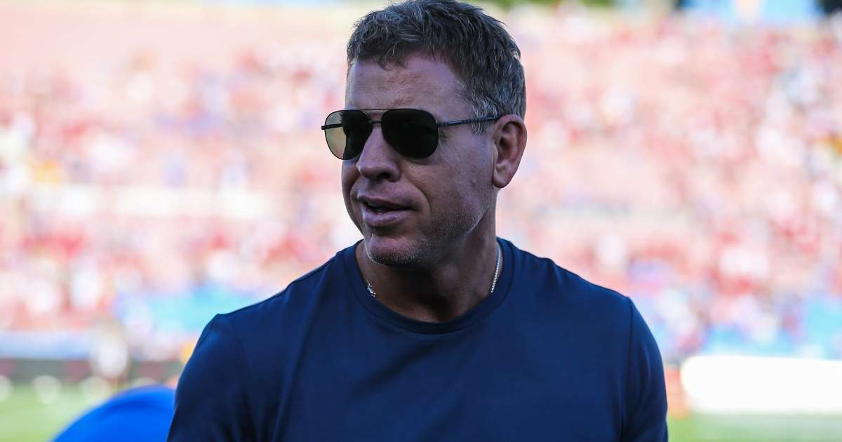 Troy Aikman military flyover comments nfl game walks back