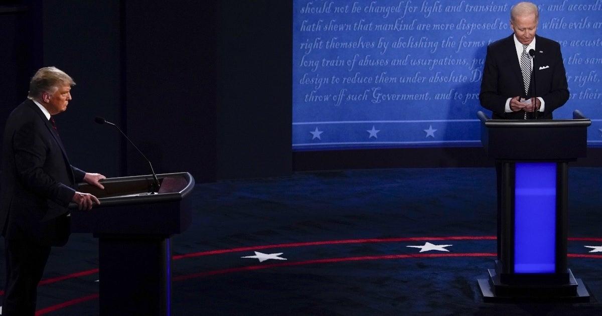 trump biden debate getty images