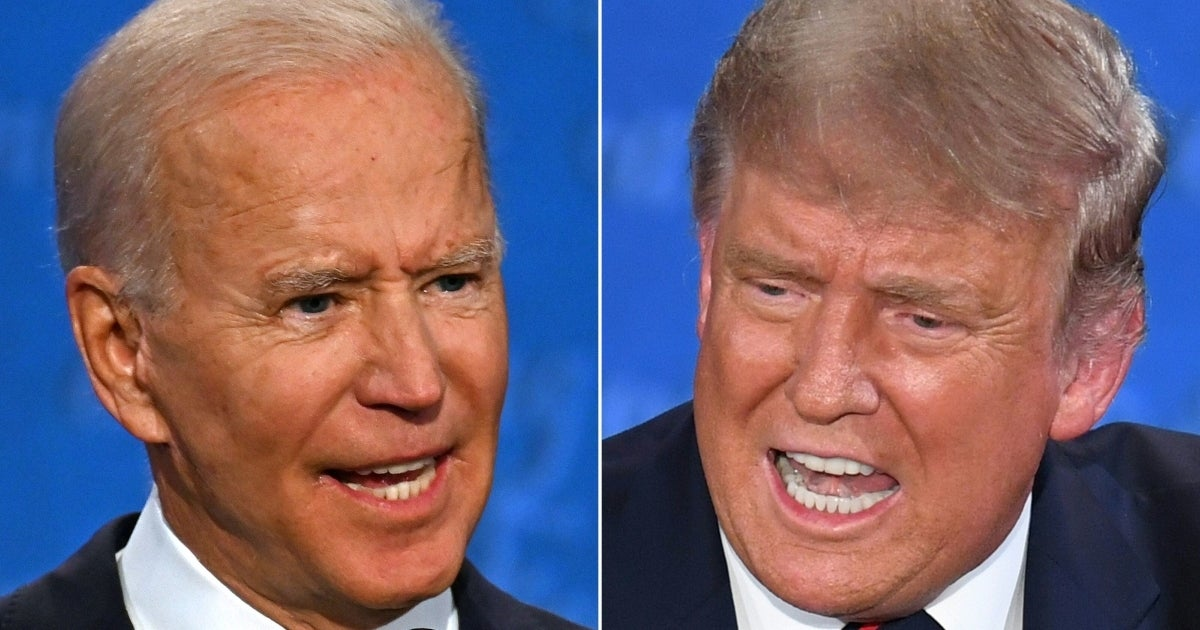 trump biden debate getty images