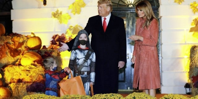 trump-melania-halloween-white-house-getty