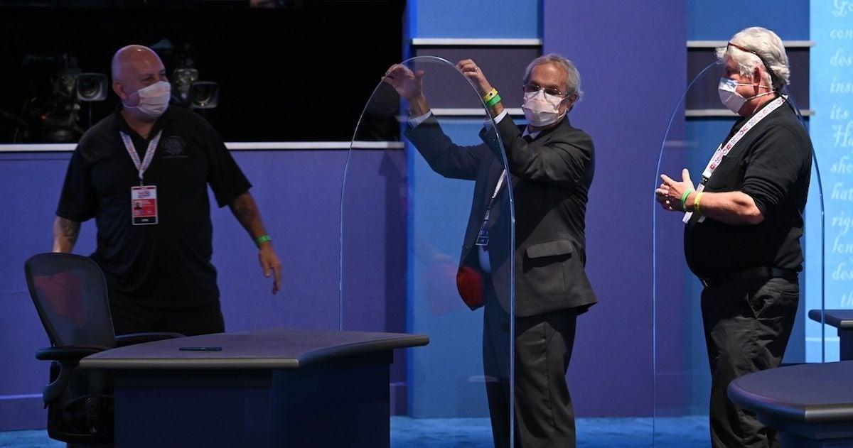 vice-presidential-debate-plexiglass-getty