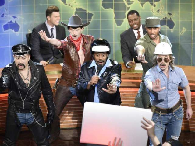 'SNL': Village People Hit Weekend Update to Trash Talk Donald Trump