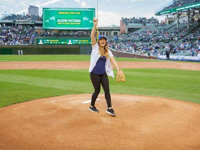 'Windy City Rehab' Star Alison Victoria Prepares to Throw First Pitch at Cubs Game in Exclusive Clip