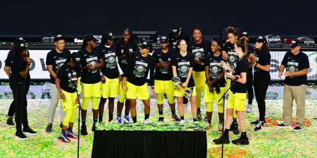 WNBA Champion Seattle Storm endorse Joe Biden Kamala Harris