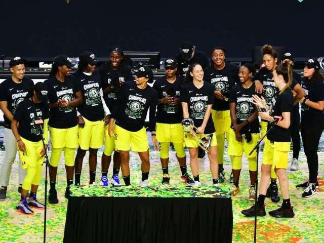 WNBA Champion Seattle Storm Endorse Joe Biden and Kamala Harris
