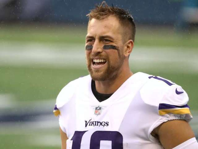 Minnesota Vikings' Adam Thielen's Cleats Feature Alex Trebek Tribute