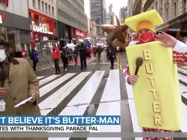 Macy's Thanksgiving Day Parade Fans Can't Believe 'Butter Man' Made a Reappearance With Al Roker