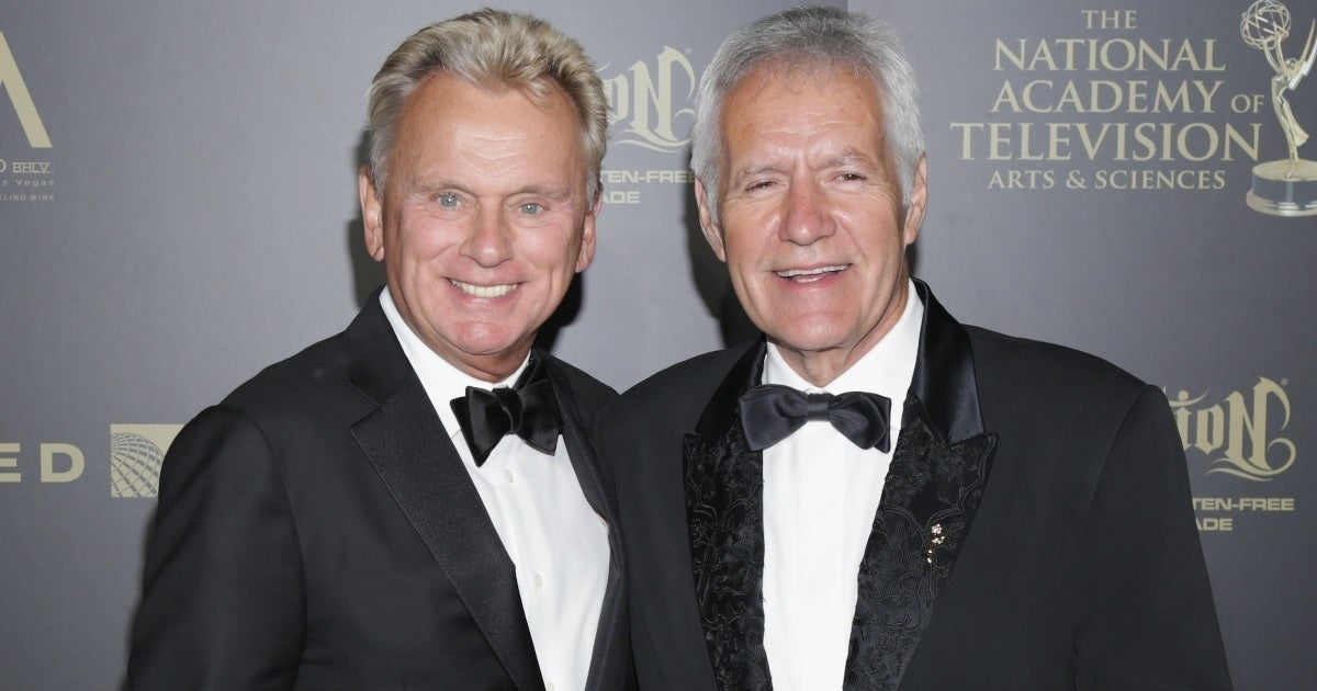 alex trebek pat sajak getty images