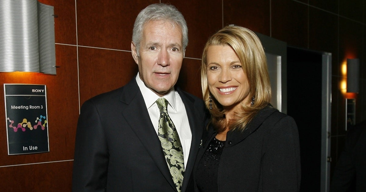 alex trebek vanna white getty images