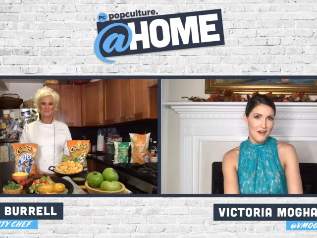 Anne Burrell - PopCulture @Home Exclusive Interview