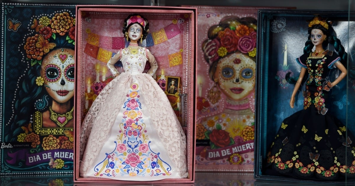 barbie day of the dead getty images