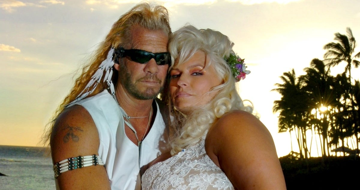 Beth Chapman wedding day