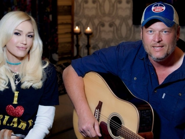 Gwen Stefani Shows First Closeup of Engagement Ring From Blake Shelton
