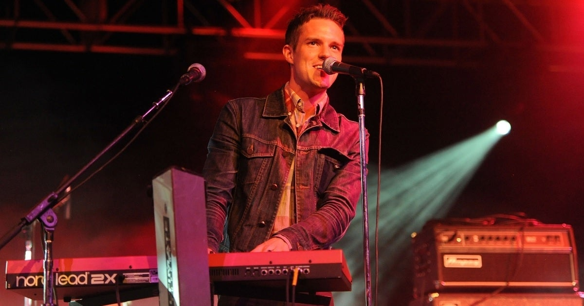 brandon flowers the killers getty images