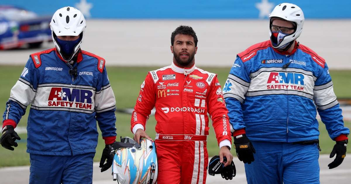 Bubba Wallace not seeing much progress NASCAR diverse inclusive