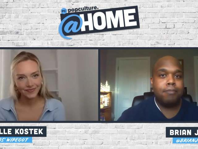 Camille Kostek Talks Wipeout - PopCulture @Home Exclusive Interview